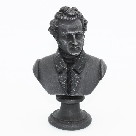 Busto di Bellini in lava