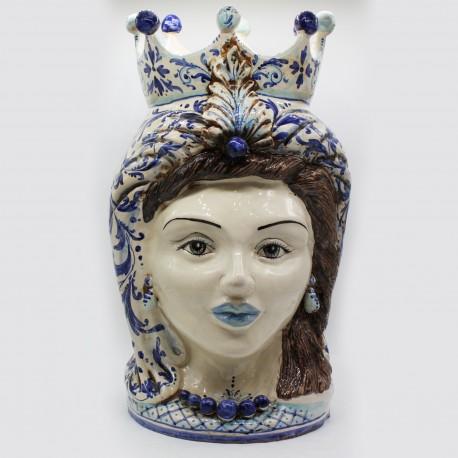Testa di moro donna - Grimaldi - Caltagirone