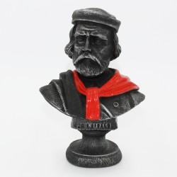 Busto di Garibaldi in lava